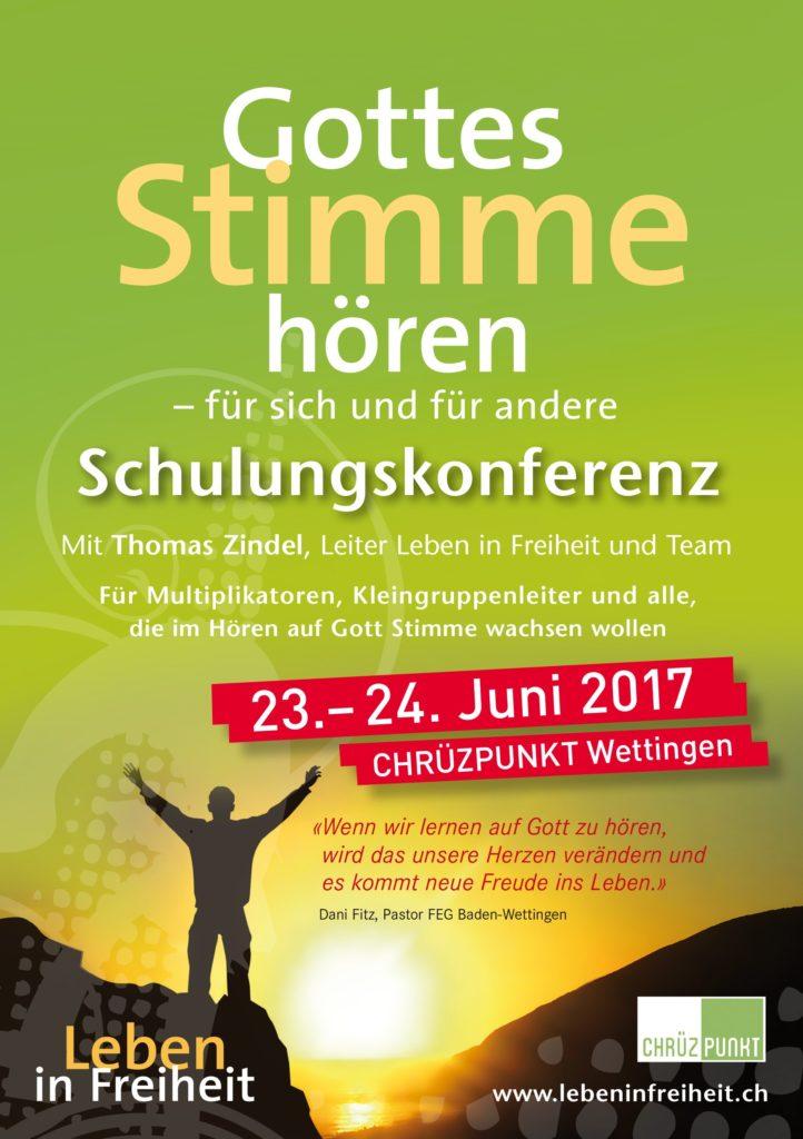 Zwei Schulungs-konferenzen im Sommer