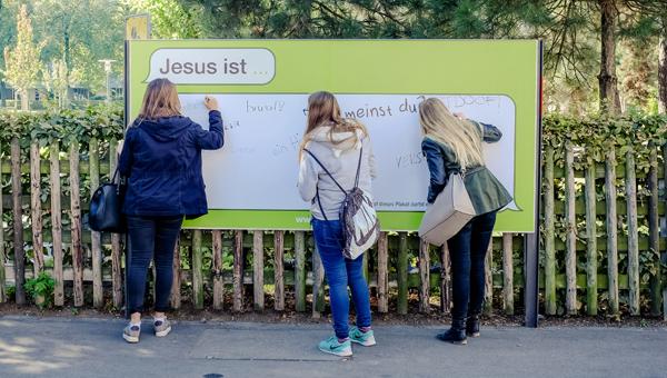 Ostern 2016 - Im Gespräch über Jesus reden